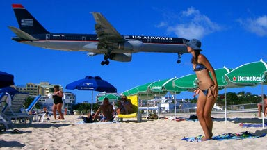 World Famous Maho Beach