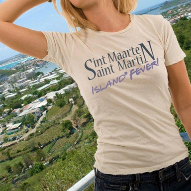 St. Maarten and Island Fever merchandise